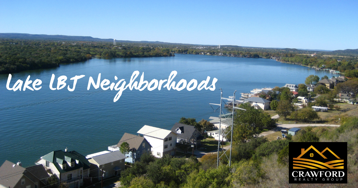 Neighborhoods on Lake LBJ