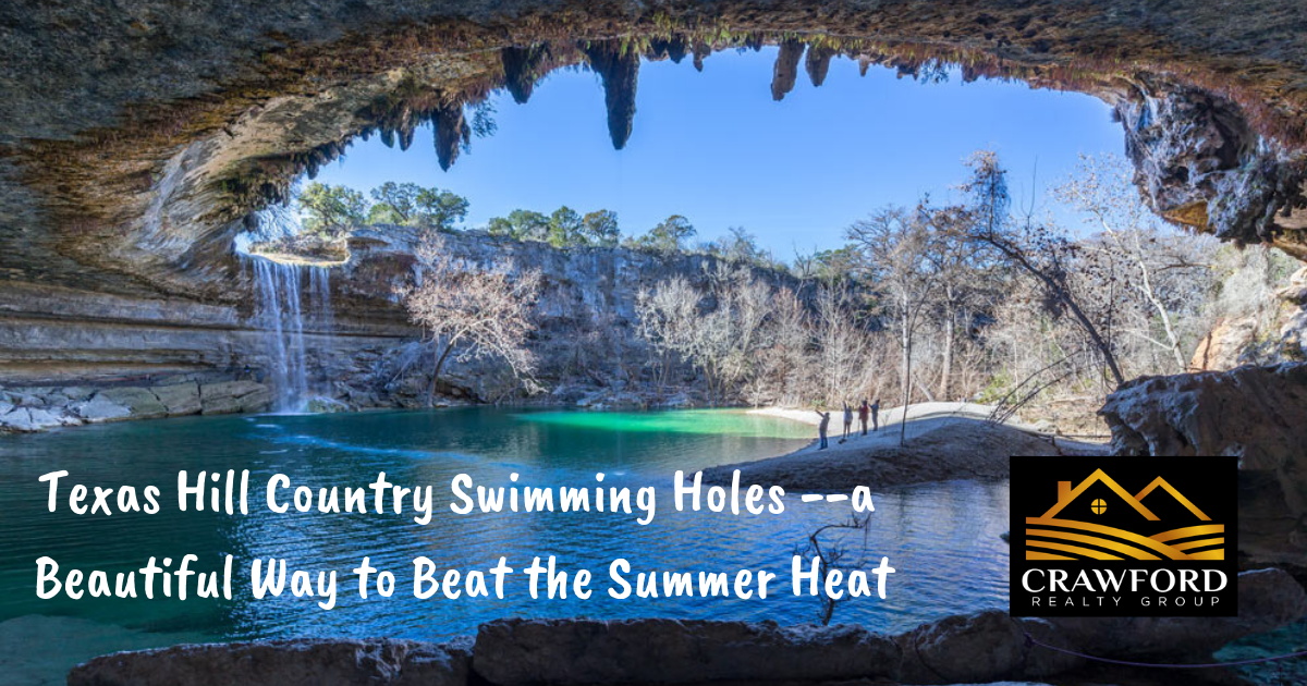 Swimming holes in Texas Hill country